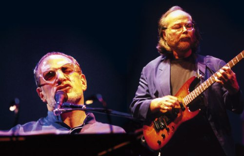 Donald Fagen and Walter Beker